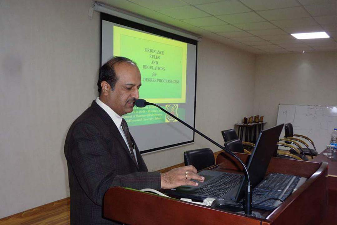 GGCP organised a Guest Lecture of Dr. Harish Dureja, Professor (Pharmaceutic)  in Department of Pharmaceutical Sciences, M. D. University Rohtak.