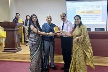 Orientation program was organized for newly admitted students. Principal of GGCP addressed the event and introduced the college and pharmacy profession.