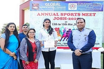 Annual sports meet was organized from 13th March to 15th march 2019.