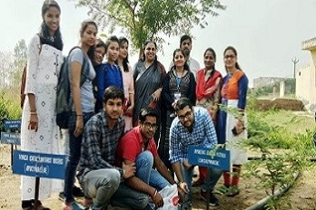 GGCP in its endeavour to conseve environment organized Plantation Drive – Plant For Planet. Faculty and students of GGCP planted the medicinal plants in herbal garden.
